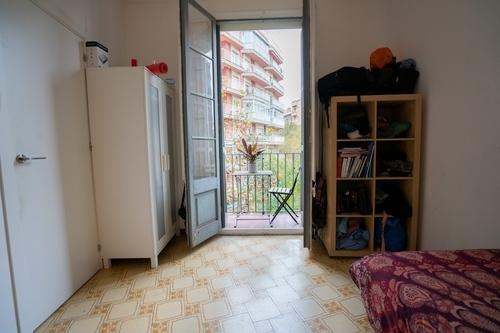 habitación doble en piso muy luminoso